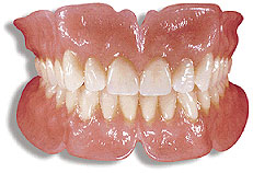 Full Upper and Lower Lucitone 199 Dentures